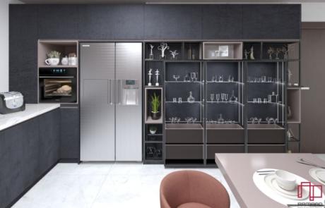 طراحی سیستم آشپزخانه