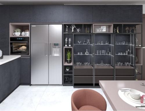 دکوراسیون آشپزخانه | کابینت مدرن منزل سلیمی