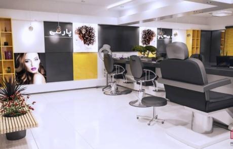 طراحی دکوراسیون داخلی سالن زیبایی