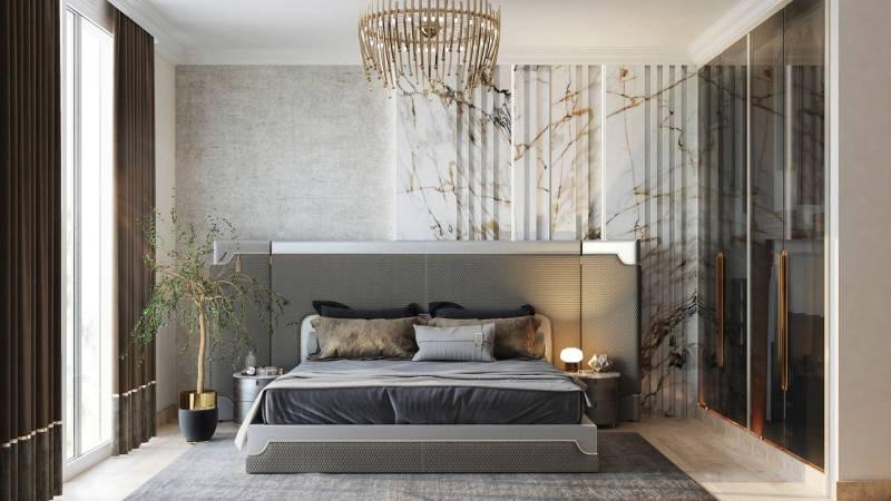 اتاق خواب به سبک مدرن