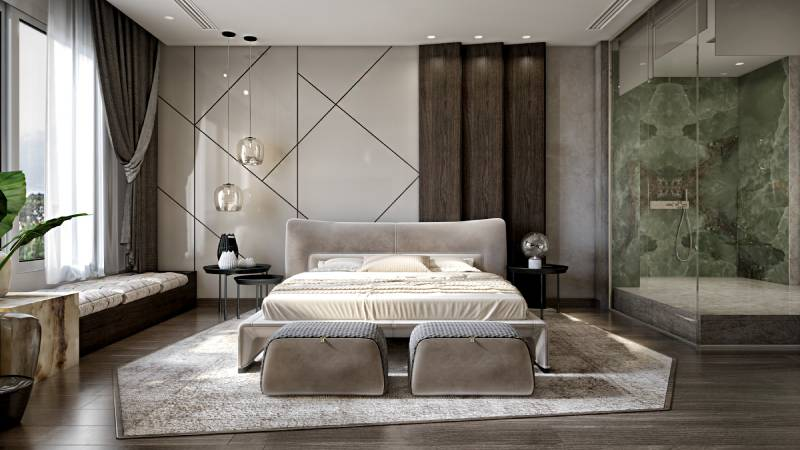فرش در دکوراسیون اتاق خواب