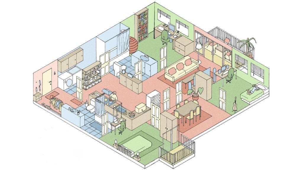 تغییر معماری خانه بعد از همه گیری ویروس کرونا