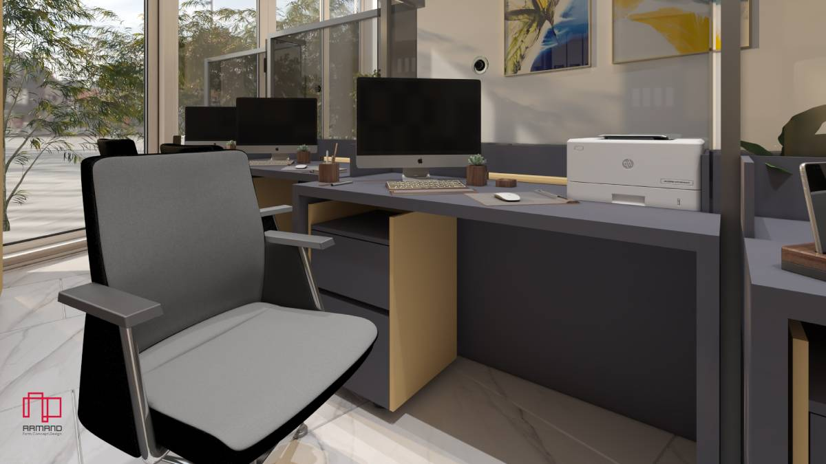 طراحی دکوراسیون داخلی دفتر کار