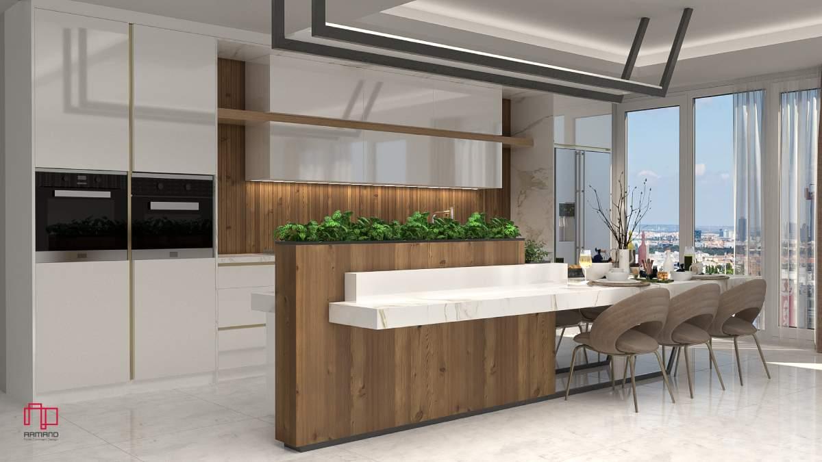 طراحی و اجرای آشپزخانه مدرن