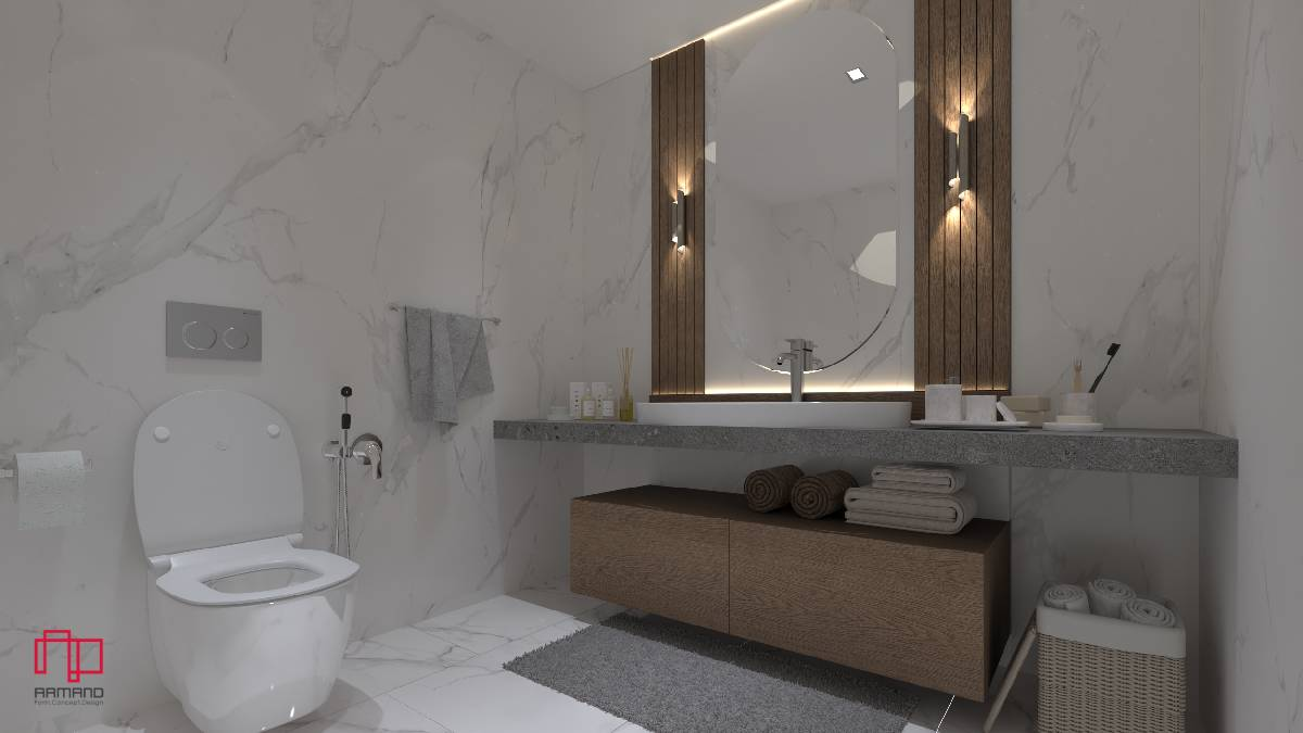 طراحی دکوراسیون حمام و سرویس بهداشتی